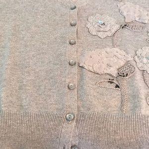 Embellished cardigan